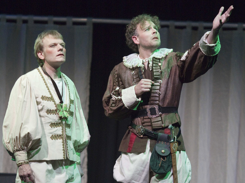 """Szene aus """"Dying for a Laugh"""" – Ostensibles: Osnabrück's Theatre in English"""