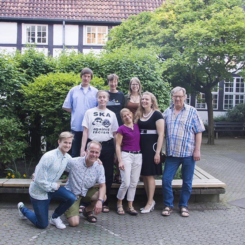 Ostensibles Gruppenfoto