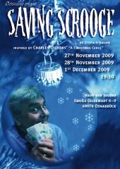 """Poster der Ostensibles Produktion """"Saving Scrooge"""""""