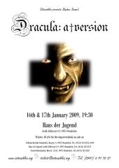 """Poster der Ostensibles Produktion """"Dracula"""""""